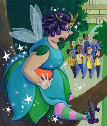 From: Dentina: The Kind-of-True Tale of a Tooth Fairy Who Stopped Believing in Children