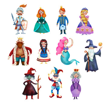 Fairy tale characters