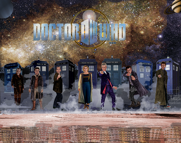 7 Doctors and the Daleks