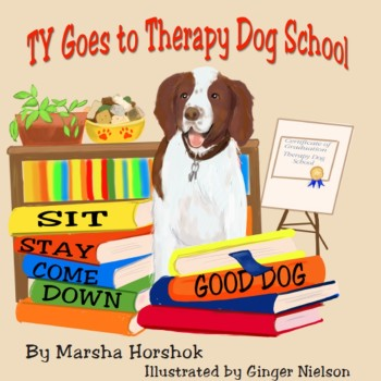 Ty Goes to Therapy Dog School