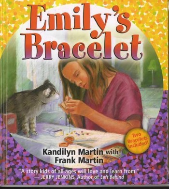 """Cover for"""" Emily's Bracelet,"""" Published by Cook Communications"""