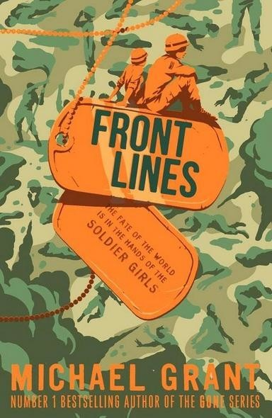 Front Lines (Egmont) Book cover design