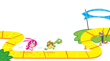 The Race Is On!  Doodlin' Pad - Kid's Books Publishing