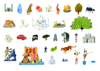 Barefoot Books World Atlas - South Asian Icons