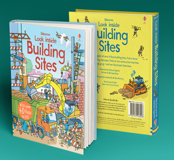 Usborne Look Inside Building sites