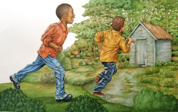 Race for the outhouse