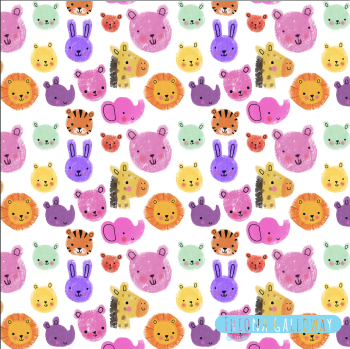 Baby jungle pattern