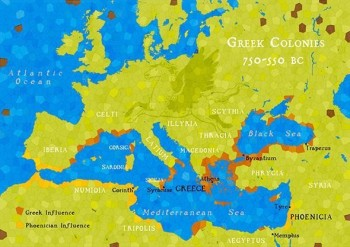 Greek Colonies 750-550 BC