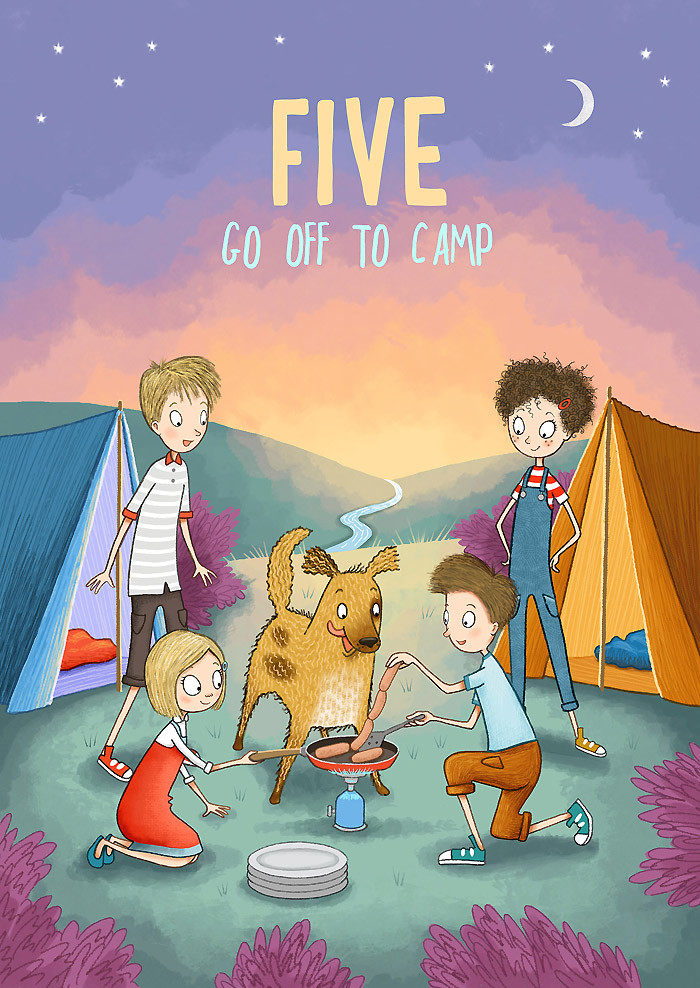 Five Go to Camp