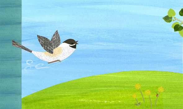One Little Chickadee Flew Away