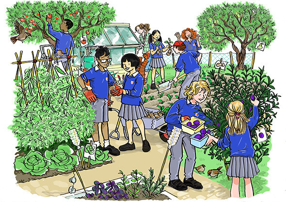 Gardening Club, from On Track Published by Schoeningh/Wetermann