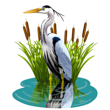 Heron - Criss-Cross Puzzle Book cover