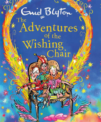 The Adventures of the wishing chair 2017 cover