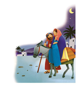 Mary and Joseph journey