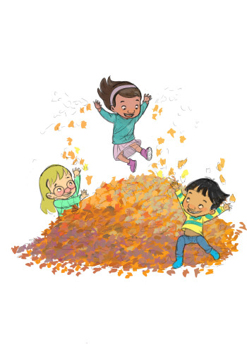 Jumping Leaves