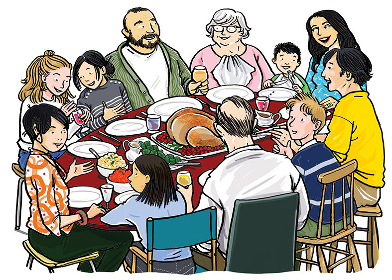 Thanksgiving Dinner, published by Westermann Gruppe GmbH