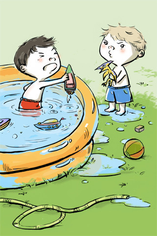The Great Battle of the Kiddie Pool