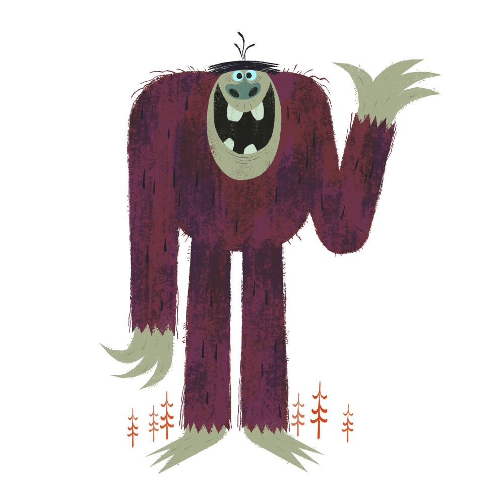 The Friendly Bigfoot