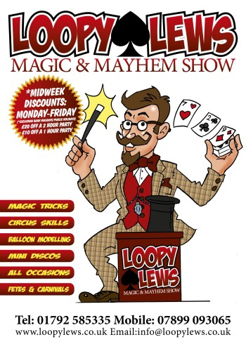 Loopy Lews caricature