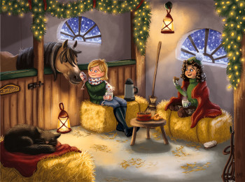 Christmas in the stables