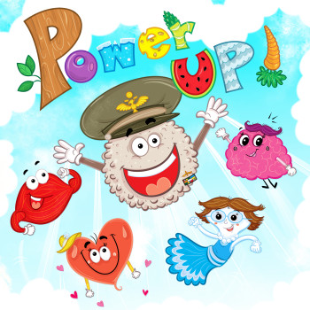 Power Up - Book Cover - Author:  Julienne Colon