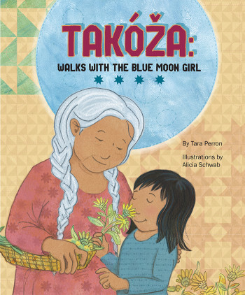 Takoza: Walks With The Blue Moon Girl