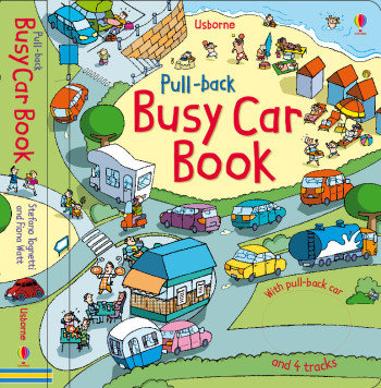Busy Car book   Ed.Usborne