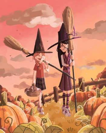 Pumpkin Patch Witches