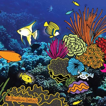 Under the Sea Coral Reef for Children's Non Fiction