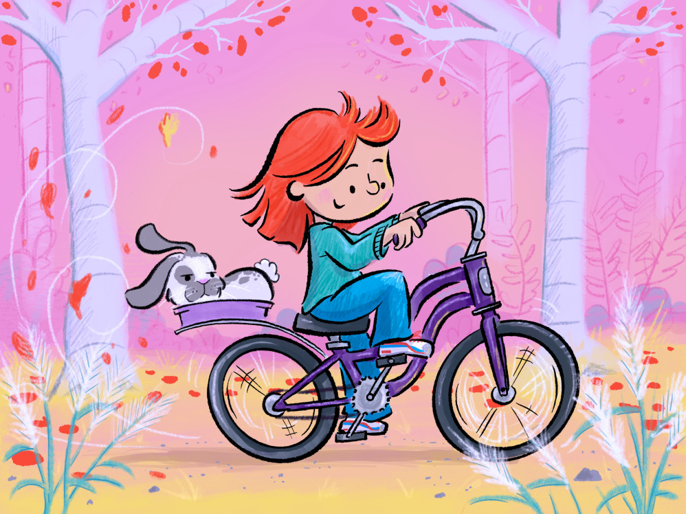 Bike Ride for Bunny