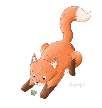 Fox and Butterfly