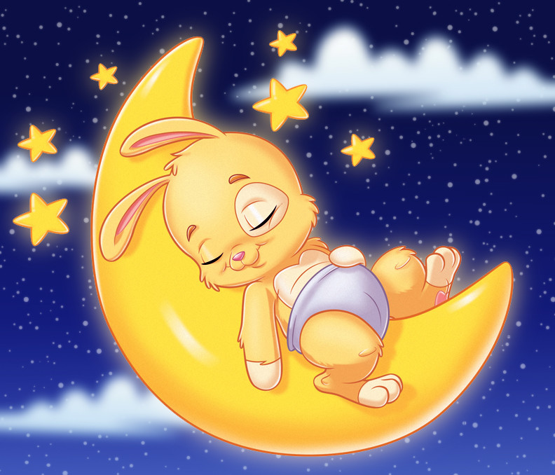 Pampers Bunny Design