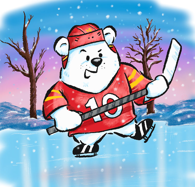 Hockey Bear