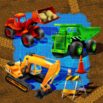 Construction Licensed Partyware