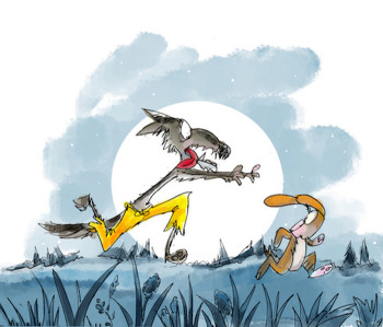 Wolf And The Dog Aesop's  Fables