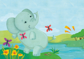 Abby the Elephant for Little Hippo Books