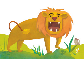 Logan the roaring lion, for Little Hippo Books