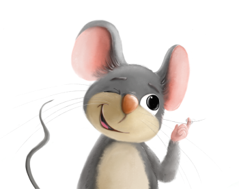 cheeky mouse