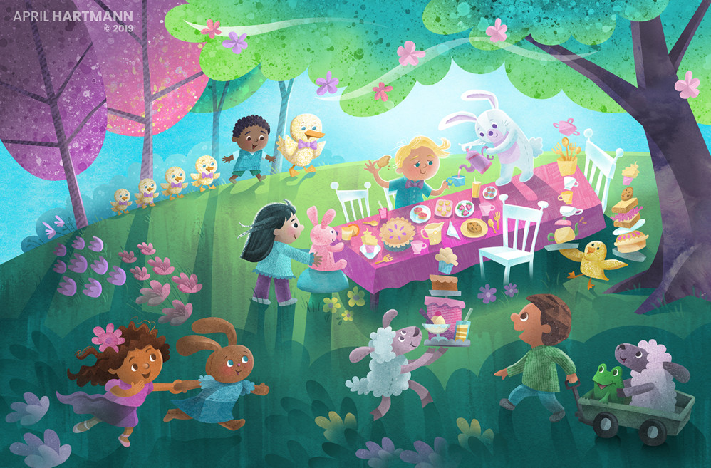 Enchanted Spring Picnic