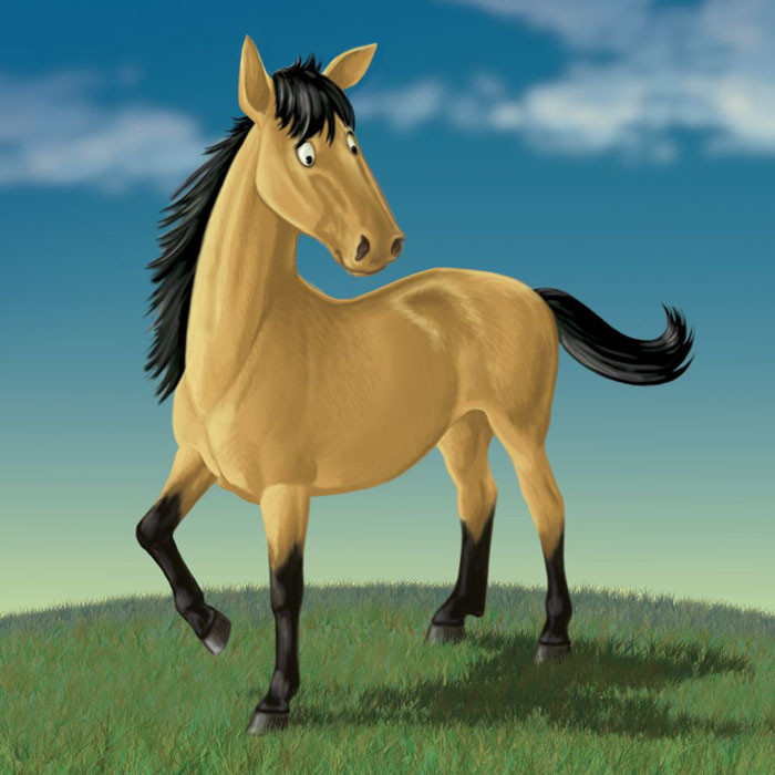 """""""Horse from """"The Flying Pig"""""""
