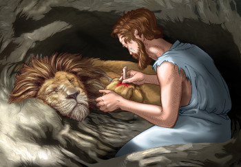 The Slave and the Lion