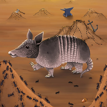 Armadillo and Ants