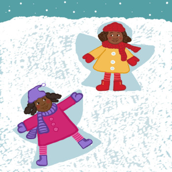 """""""Snow Angels"""" Scholastic Read and Rise Magazine"""