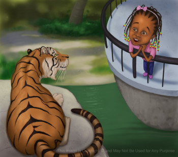 The Tiger at the Zoo