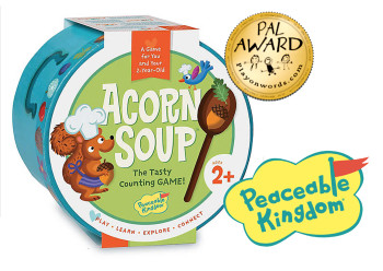 Acorn soup game, the tasty counting game!