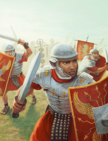 Battle Ready Roman Soldiers