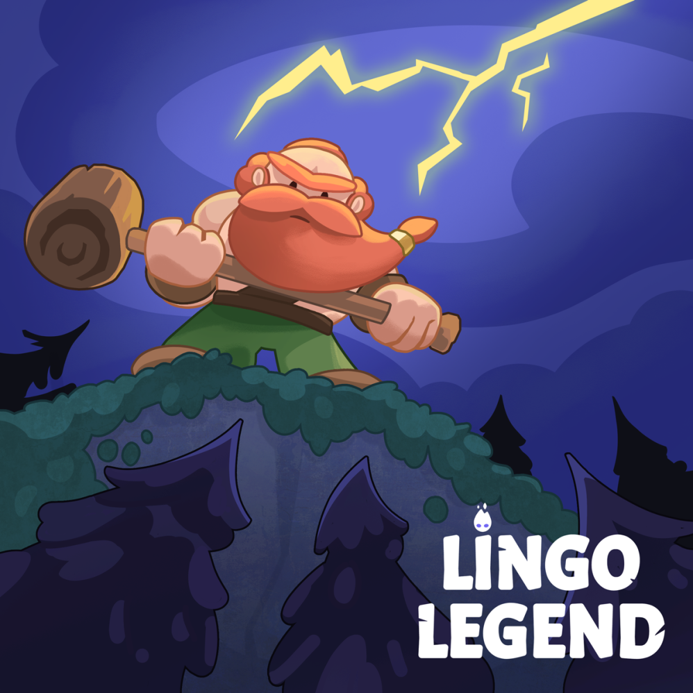 Lingo Legend, splash illustration