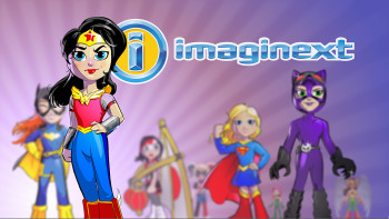 DC Comics/Fisher-Price Imaginext Promotional Illustration
