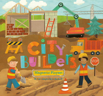 City Builders magnetic playset