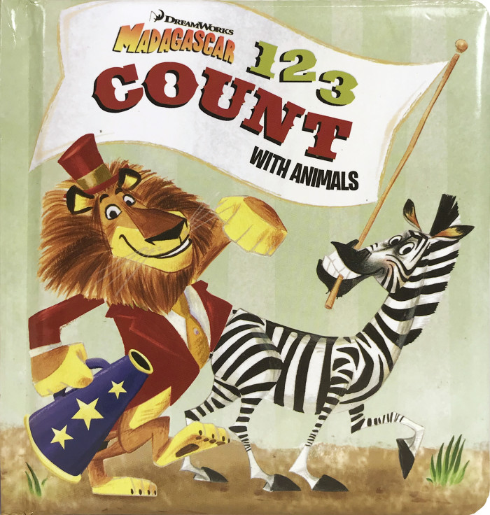 "Shawn Finley Illustrates Madagascar ""1 2 3 Count with Animals"""